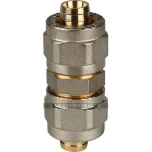 STOUT Муфта соединительная 16х16 для металлопластиковых труб винтовой