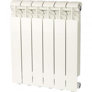Радиатор Global ISEO 500 6 секций заводская сборка