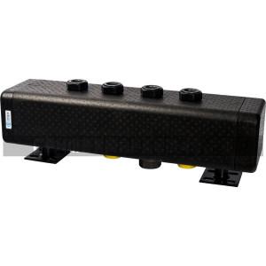 STOUT Стальной распределительный коллектор 2 отопительных контура. В теплоизоляции DN 32