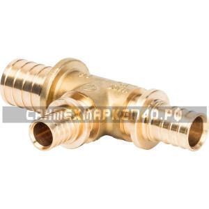 STOUT Тройник переходной 32x20x25 для труб из сшитого полиэтилена аксиальный