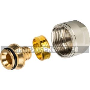 STOUT Фитинг компрессионный для труб PEX 16х2,0х3/4