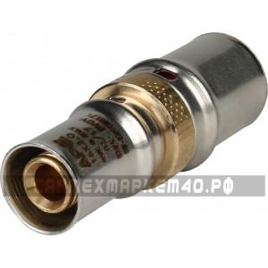 STOUT Муфта соединительная переходная 20x16 для металлопластиковых труб прессовой