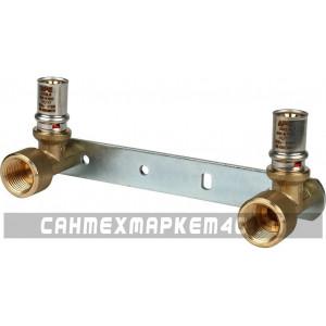 """STOUT Настенный комплект для смесителя 1/2""""x16 для металлопластиковых труб прессовой"""