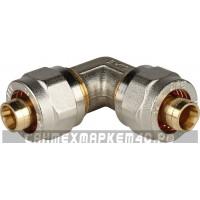 STOUT Угольник 90° 16х16 для металлопластиковых труб винтовой
