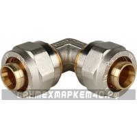 STOUT Угольник 90° 20х20 для металлопластиковых труб винтовой