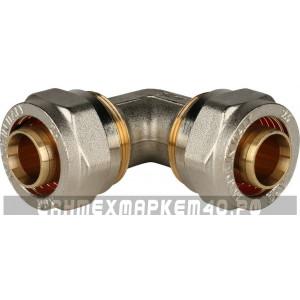 STOUT Угольник 90° 26х26 для металлопластиковых труб винтовой