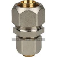 STOUT Муфта соединительная переходная 26x20 для металлопластиковых труб винтовой