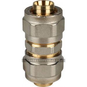 STOUT Муфта соединительная 20х20 для металлопластиковых труб винтовой