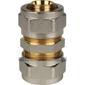 STOUT Муфта соединительная 26х26 для металлопластиковых труб винтовой
