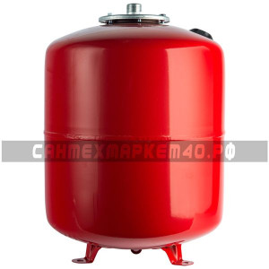 STOUT Расширительный бак на отопление 50 л. (цвет красный)