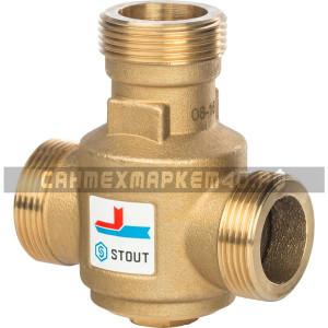 """STOUT Термостатический смесительный клапан G 1 1/4"""" НР 55°С"""